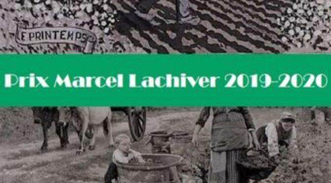 3ème édition du prix Marcel Lachiver